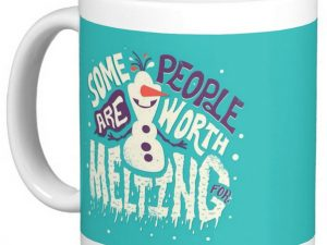 Buy Some People Are Worth Melting For Mug